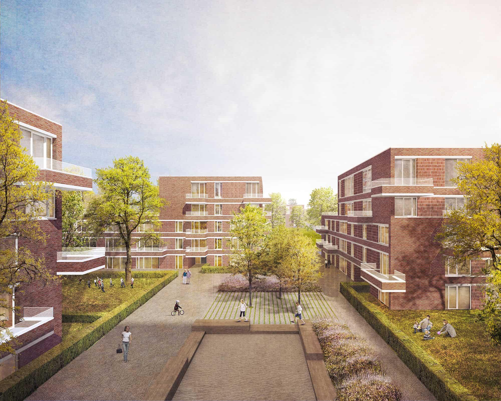 Fischbeker Heidbrook Plateau Visualisierung Procom Projektentwickler Hamburg