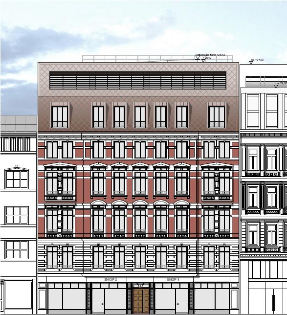 Gerhofstra·e, Fassade