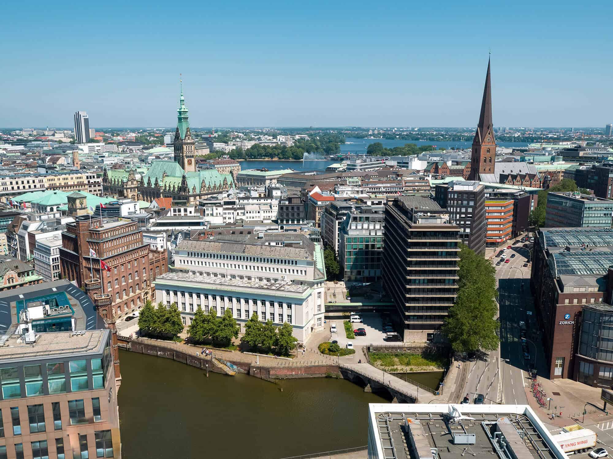 Nikolai Insel Hamburg Neugestaltung Projektentwickler Hamburg