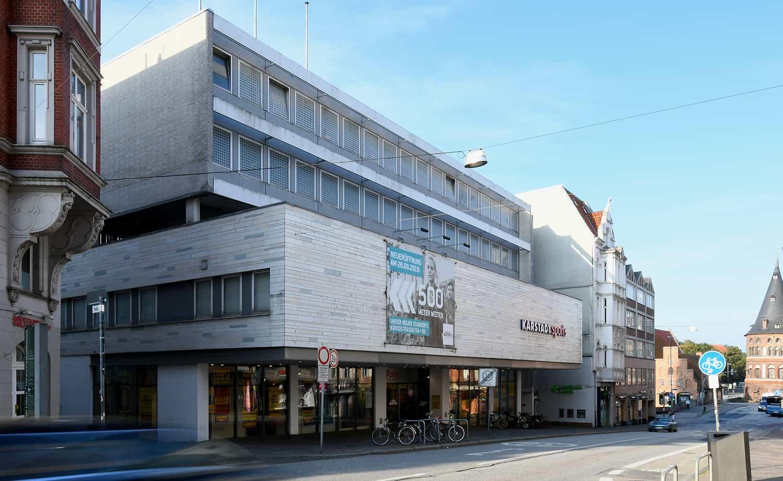 Karstadt in der Lübecker Altstadt