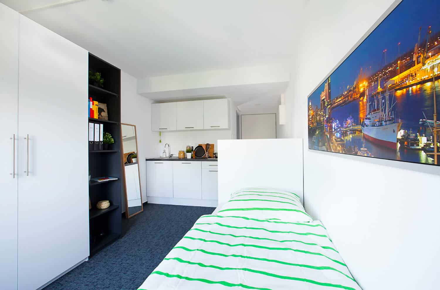 Wohnung in Hamburg Wandsbek 96 rooms