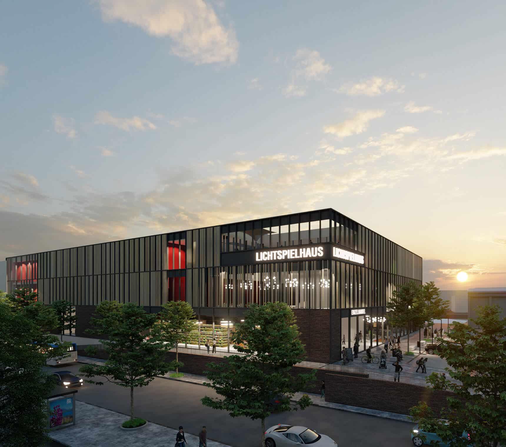 Lichtspielhaus Bad Homburg Kino Visualisierung Projektentwickler Deutschland