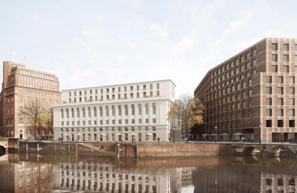 Nikolai Insel Hamburg neu Visualisierung Projektentwickler Hamburg