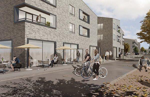 Wohn- und Einkaufsquartier Rheda-Wiedenbrueck Projektentwickler Deutschland