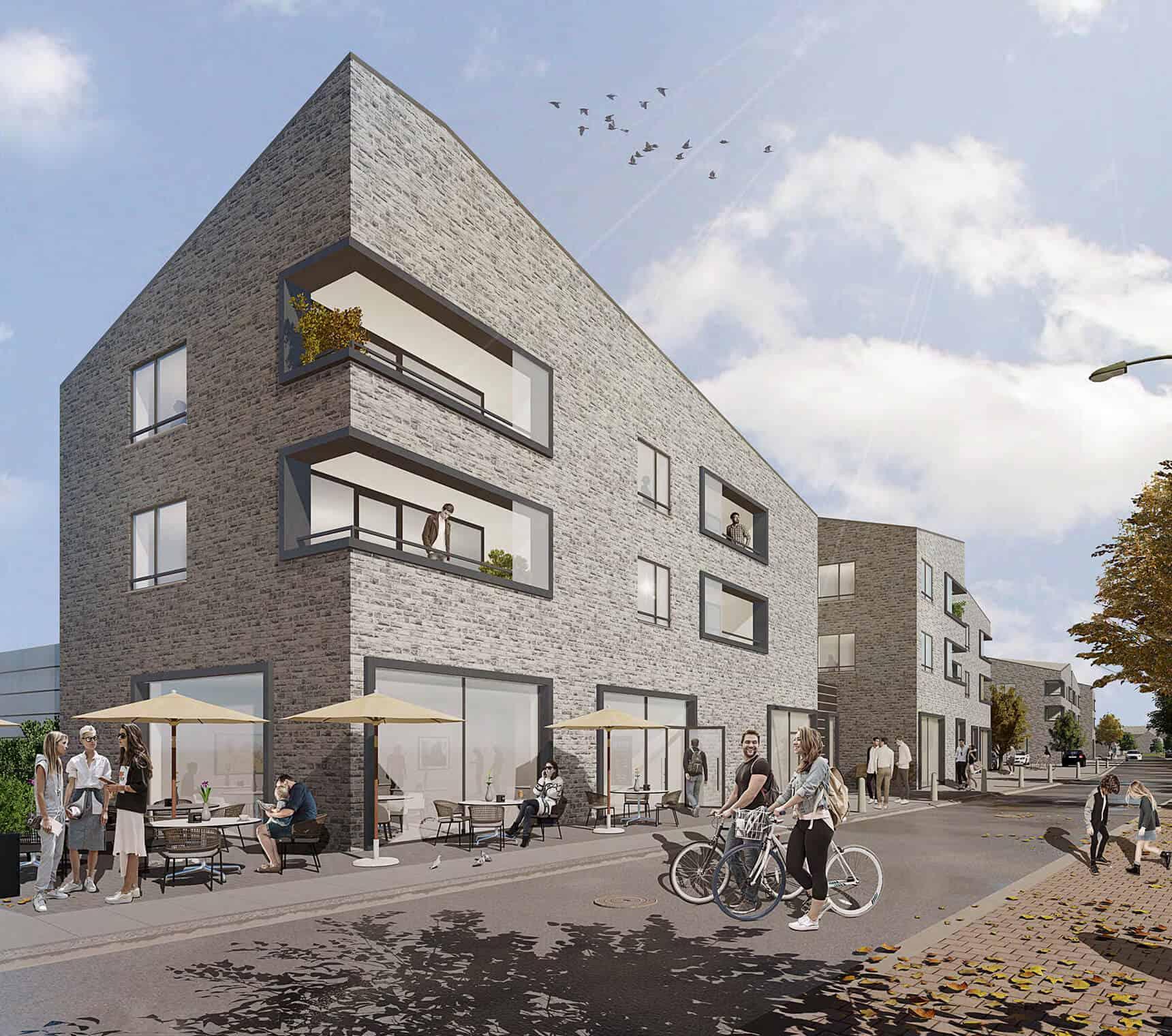 Wohn- und Einkaufsquartier in Rheda-Wiedenbrück Projektentwickler Deutschland